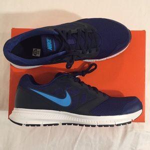 Nike Downshifter 6 Running Shoe Navy Blue - 10.5